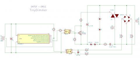 Arduino Dimmer | ON7GF